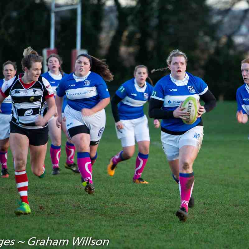 BSRFC Ladies v Harpenden