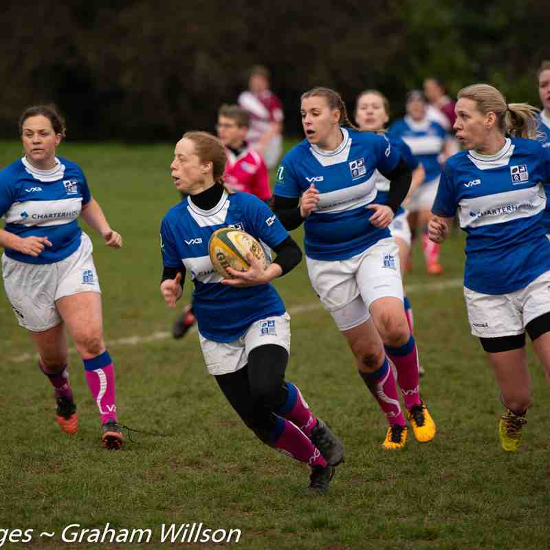 BSRFC Ladies (42) v WGC (50)