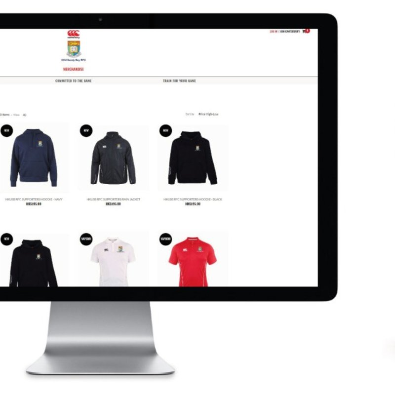 Supporters kit Team shop is open