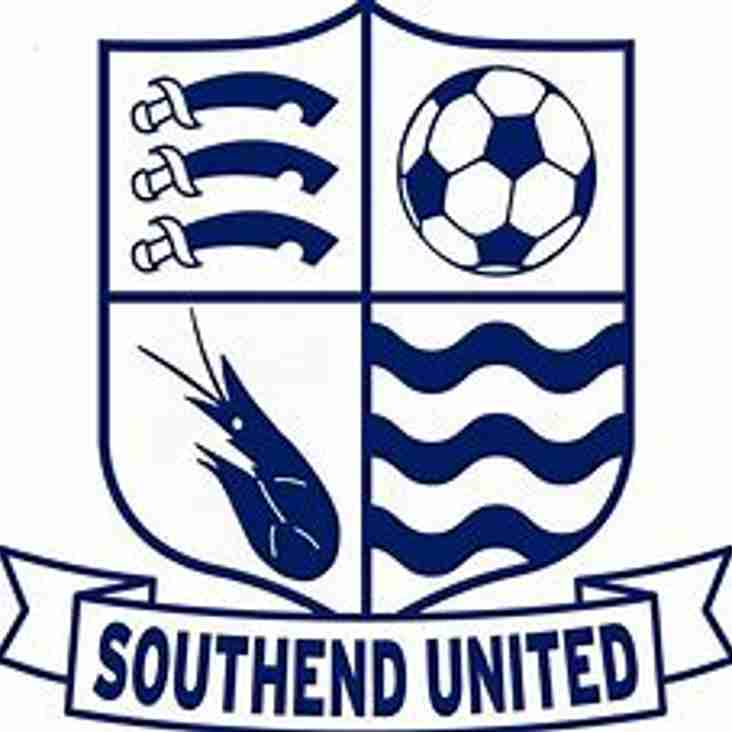 Southend United U23's to visit