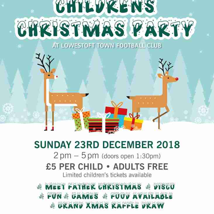 Childrens Christmas Party 2018