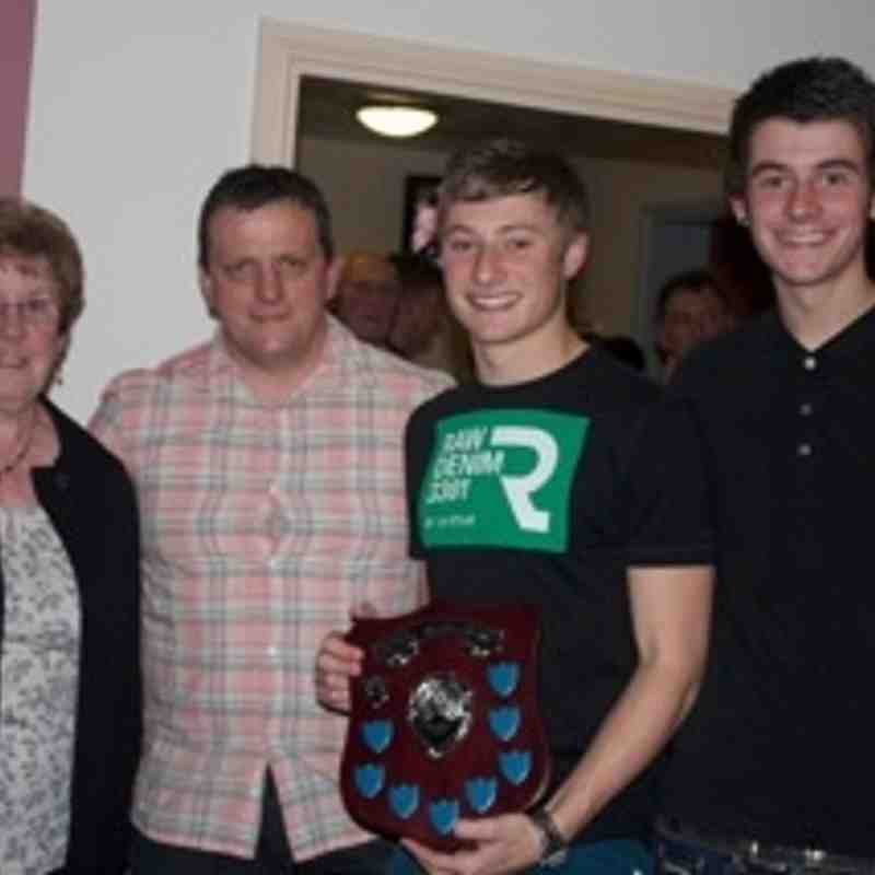 U18 Presentation of Derek Baber Memorial Trophy