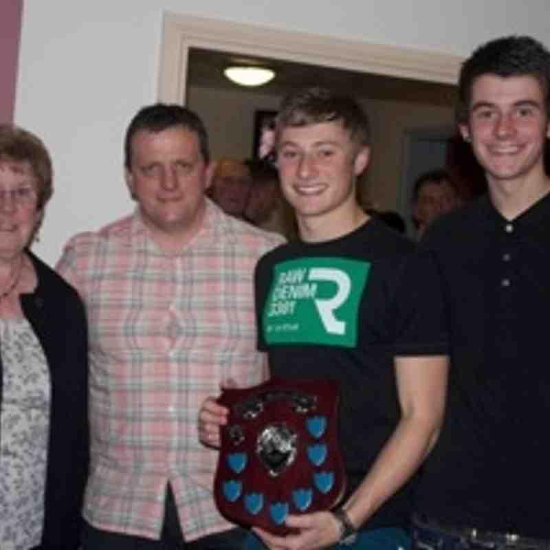 U18 Presentation of Derek Baber Memorial Trophy