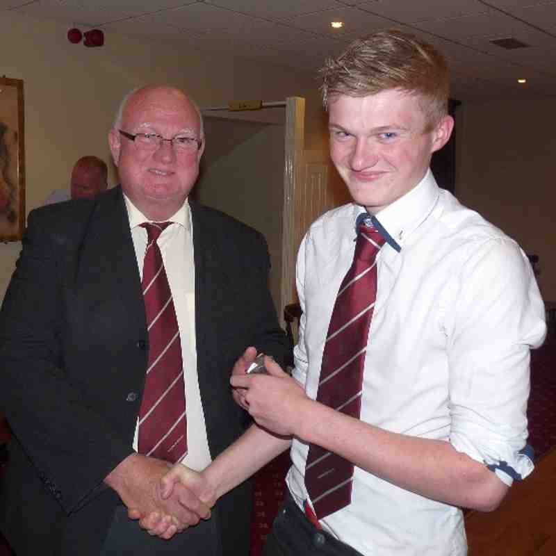 U18s Presentation 17th May 2013