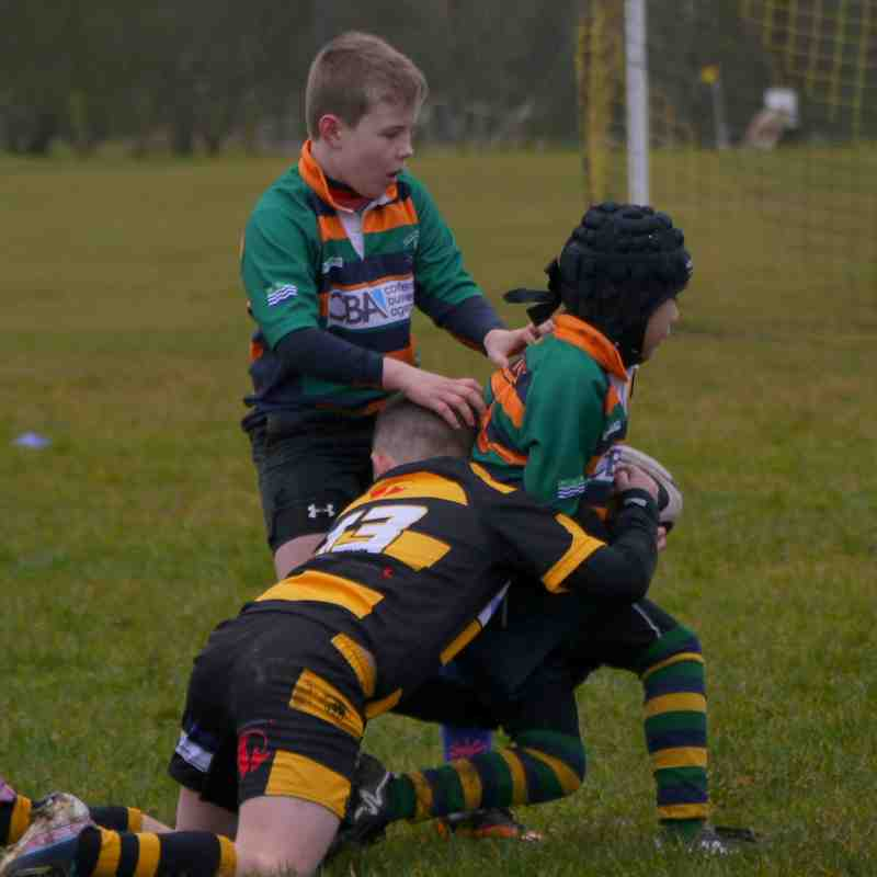 Keswick U10's v Cockermouth U10's - March 29th 2015