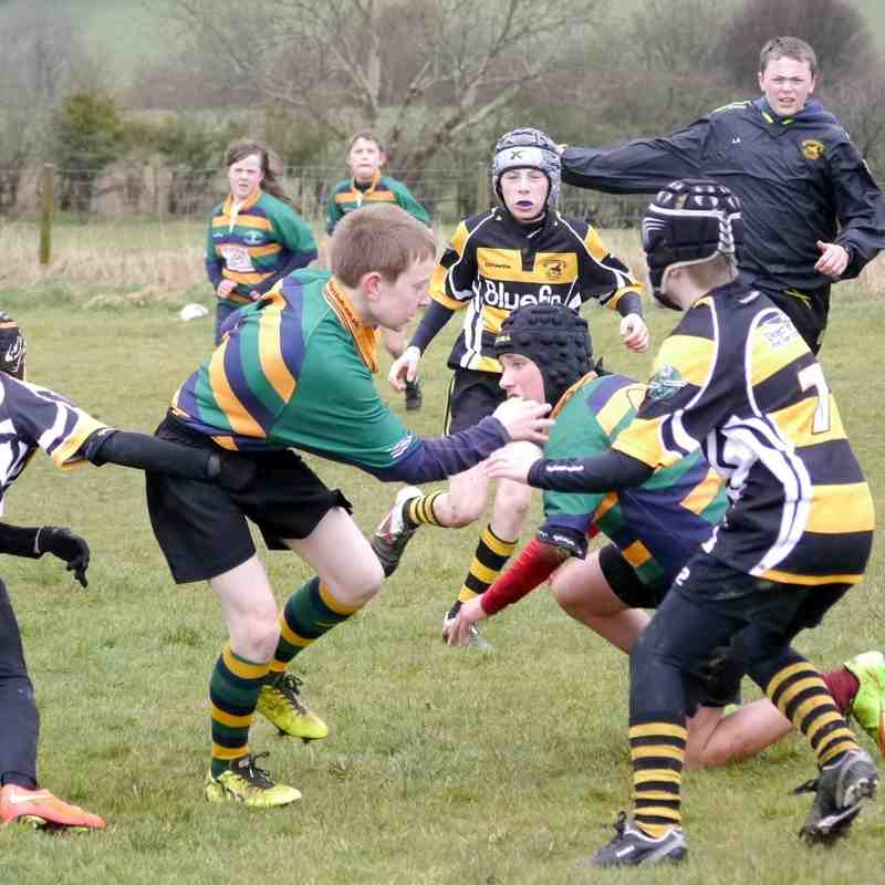 Keswick U12's v Cockermouth U12's - 29th March 2015