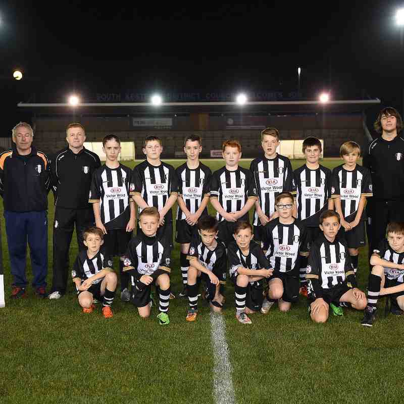 Kia support Grantham Town FC Youth