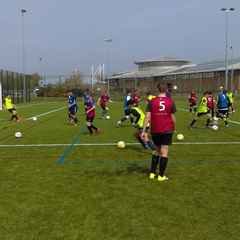 Successful first trial day for the Grantham Town FC Academy