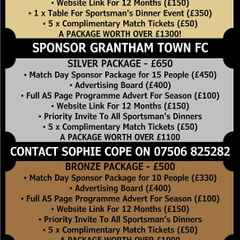 Sponsorship Packages for 2016/17 Announced