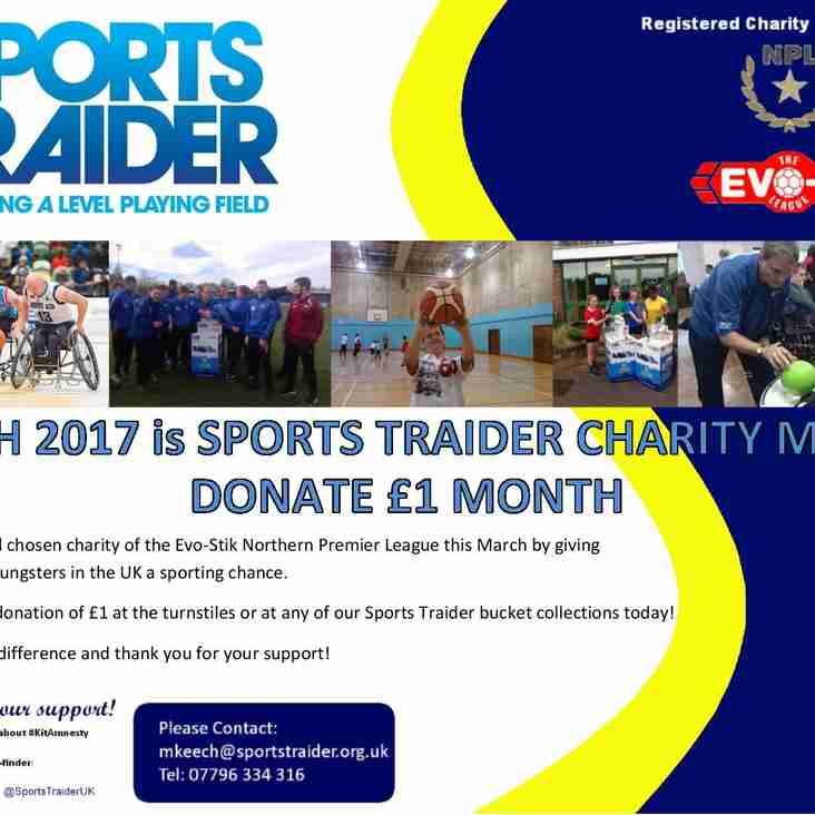 Sports Traider March Mission