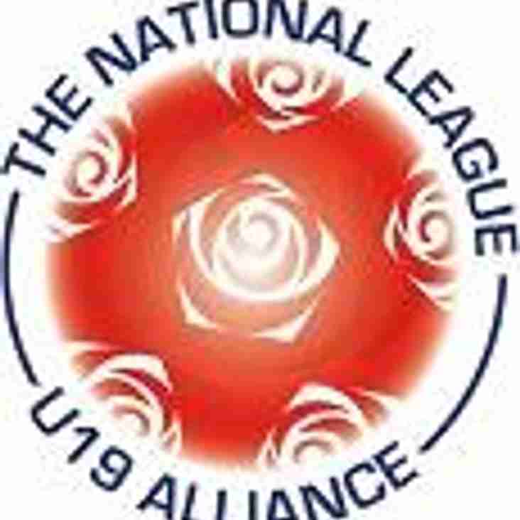 U19 National League Fixtures Announced