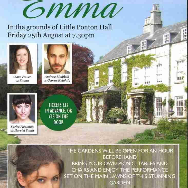 Jane Austen's Emma at Little Ponton Hall