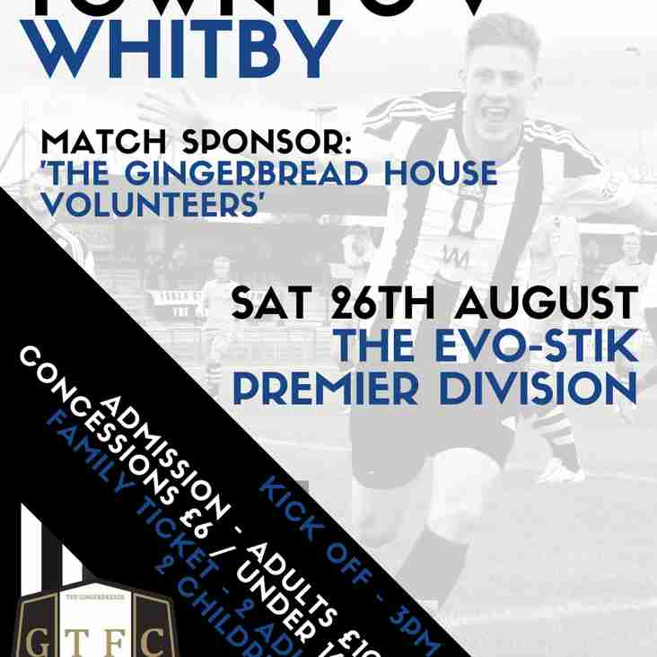 Whitby Town visit the Meres
