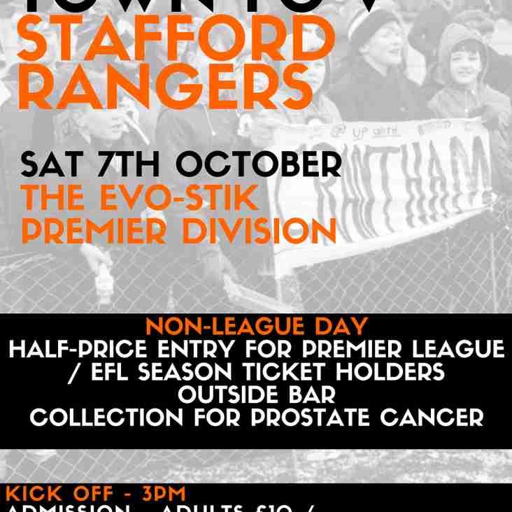 Non-League Day - This Saturday!