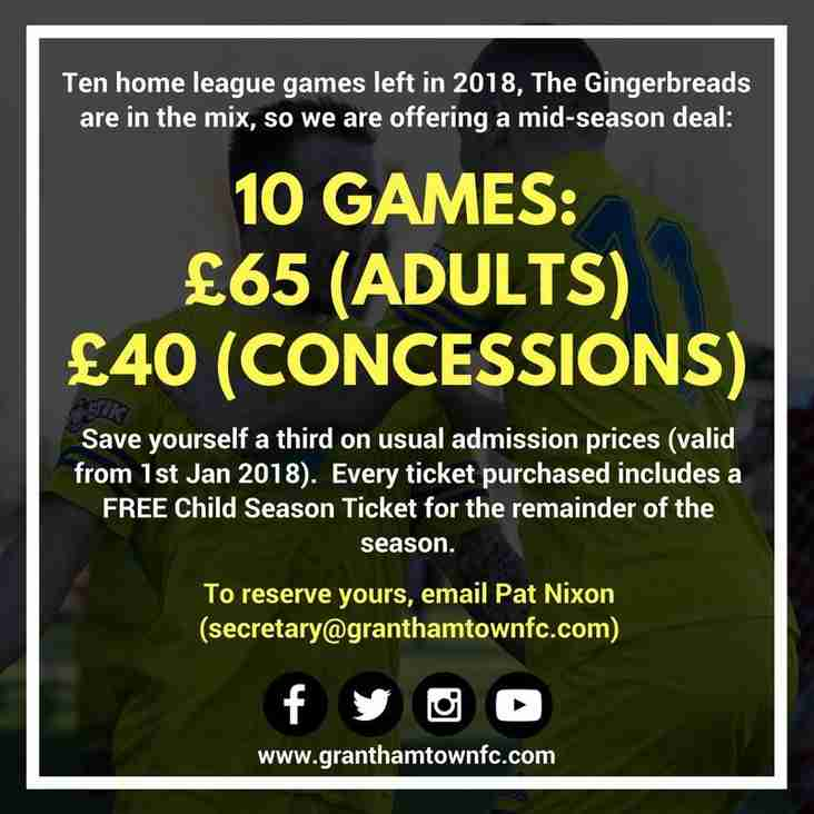 10 Game 2018 Offer