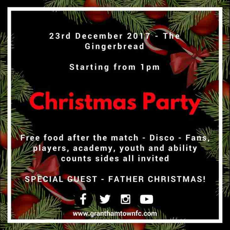 Gingerbreads Christmas Party