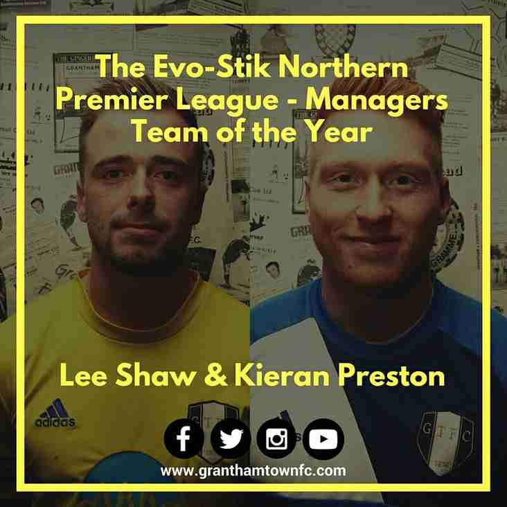 Lee Shaw and Kieran Preston Make Team of the Season