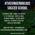 Gingerbread Soccer School vs.