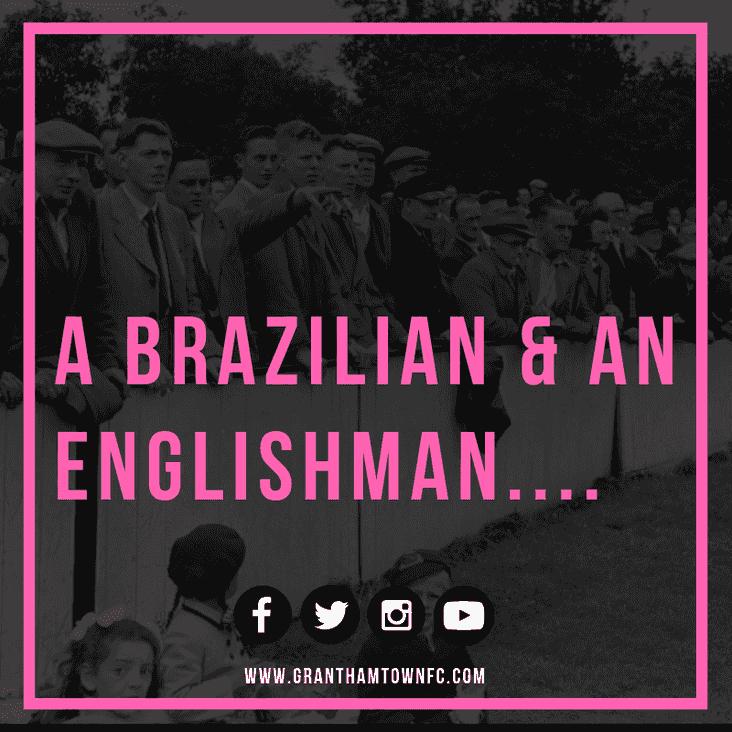 A Brazilian and an Englishman....