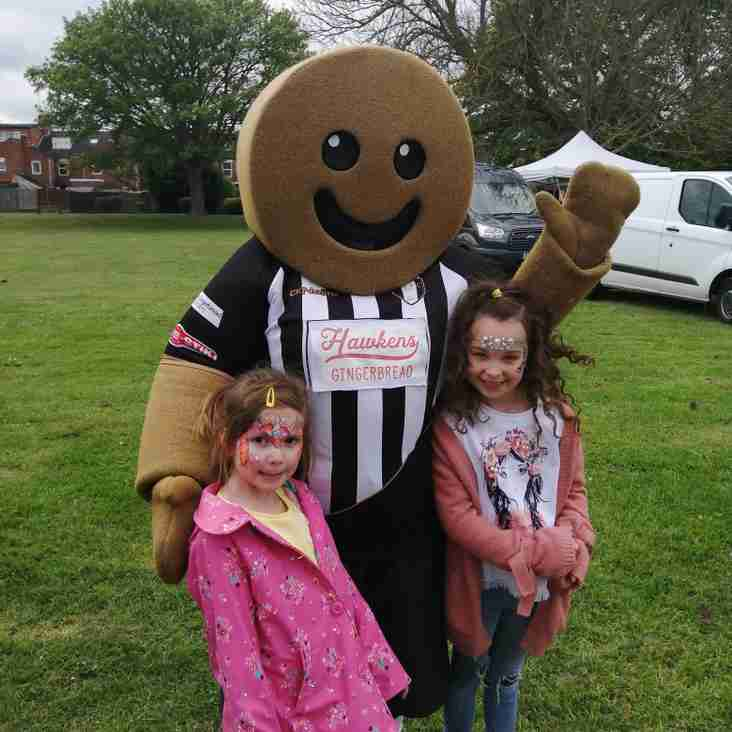 Isaac Supports Dysart Park Open Day