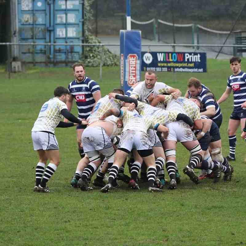 1st XV away v Westcombe Park 18-19