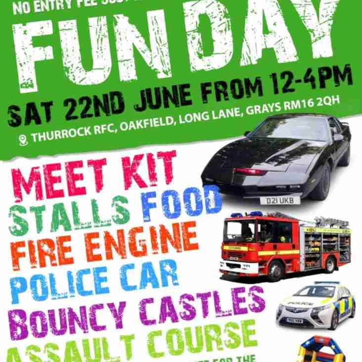 FUNDAY - Saturday 22nd June