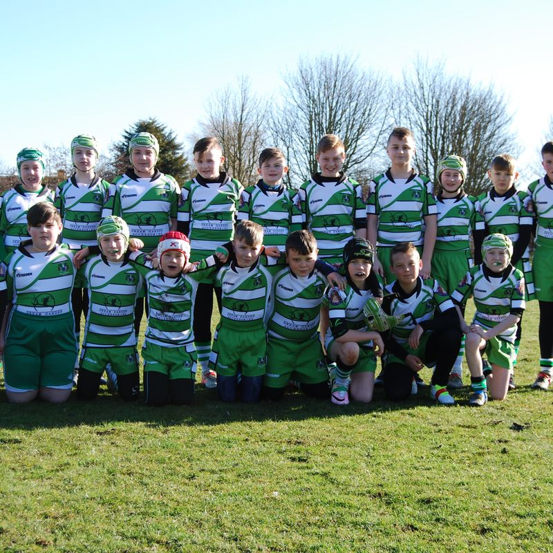 Hull Dockers U12's  lose to West Hull 36 - 12