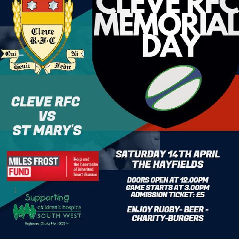 Cleve RFC Memorial Day