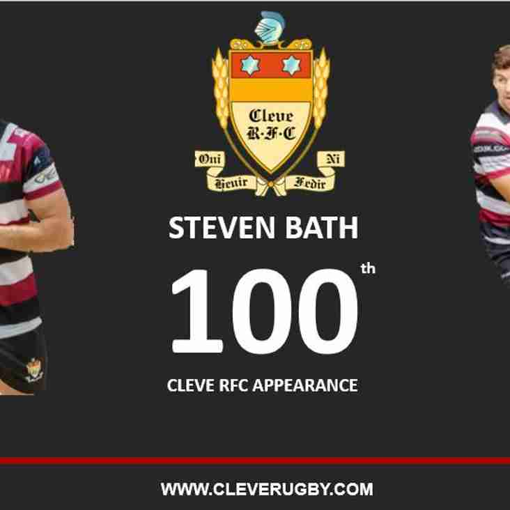 Steve Bath set for 100th Appearance