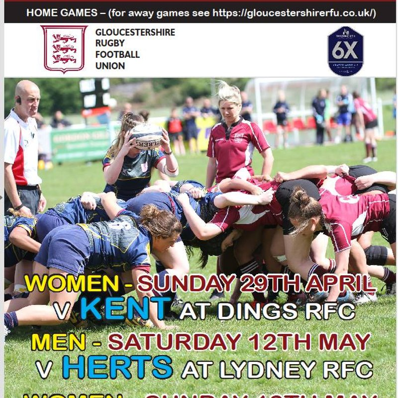 County Championships - Gloucestershire RFC vs Berkshire RFC