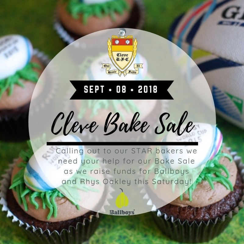 Cleve Bake Sale