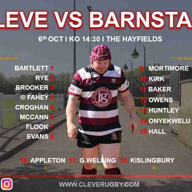 Cleve vs Barnstaple