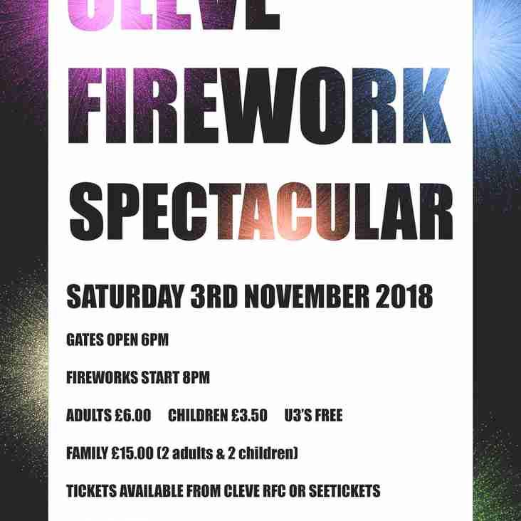 Cleve Firework Spectacular