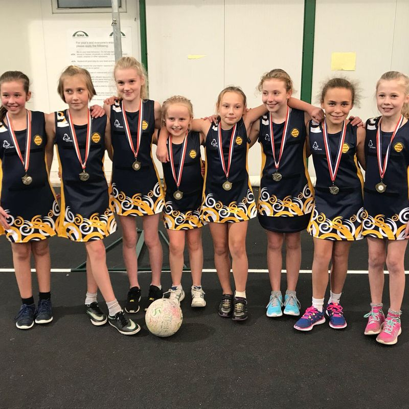 Calne Gold U11's secure 2nd place in Tournament