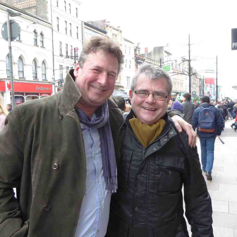 Luke Boxall & John Ward - St Brendan Jnr Tour Managers 2008 to 2014