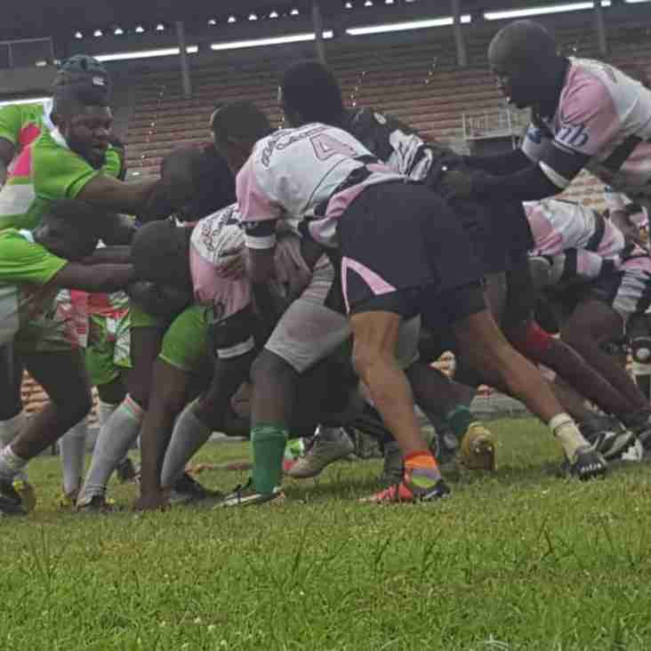 LAGOS RUGBY MEN'S LEAGUE 2018  RESULTS FROM RUGBY MATCHES PLAYED ON SATURDAY 28 JULY 2018 AT THE MAIN BOWL OF THE NATIONAL STADIUM, LAGOS