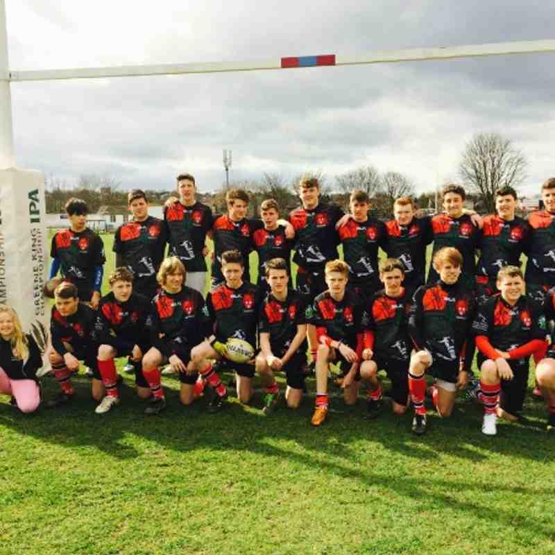 novos U15 vs rotherham 2014