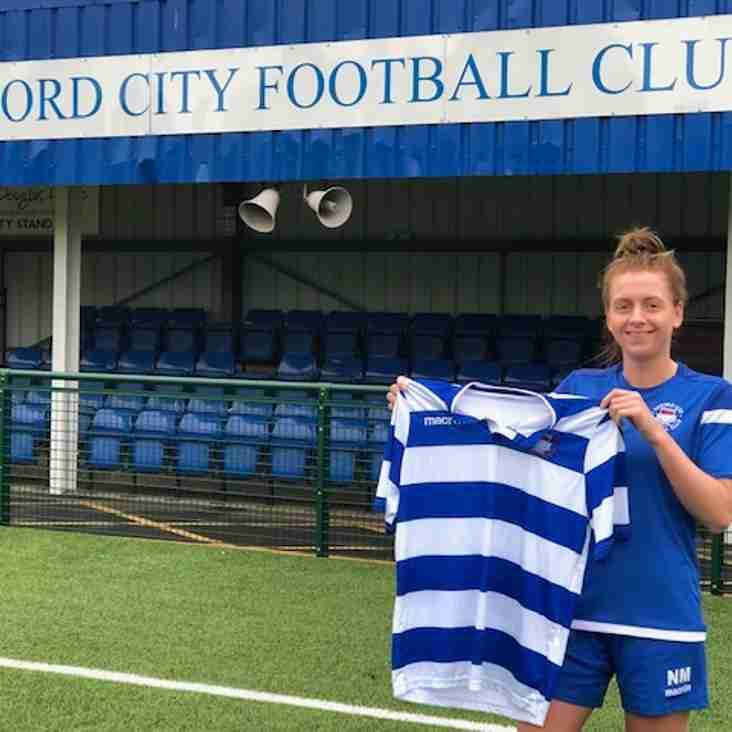 Nicole Miles commits Future to City