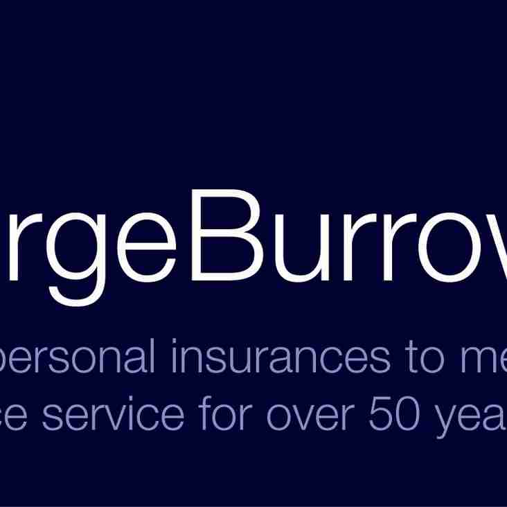 George Burrows sponsor SPRFC