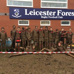 Sleaford u14 at Leicester forest
