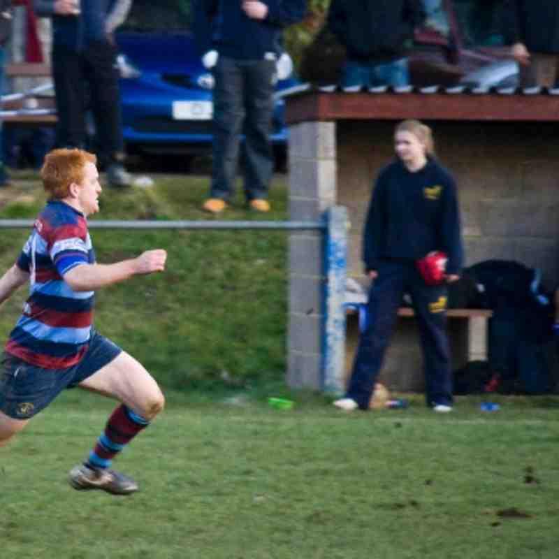 1sts v Rugby St Andrews 28/01/12