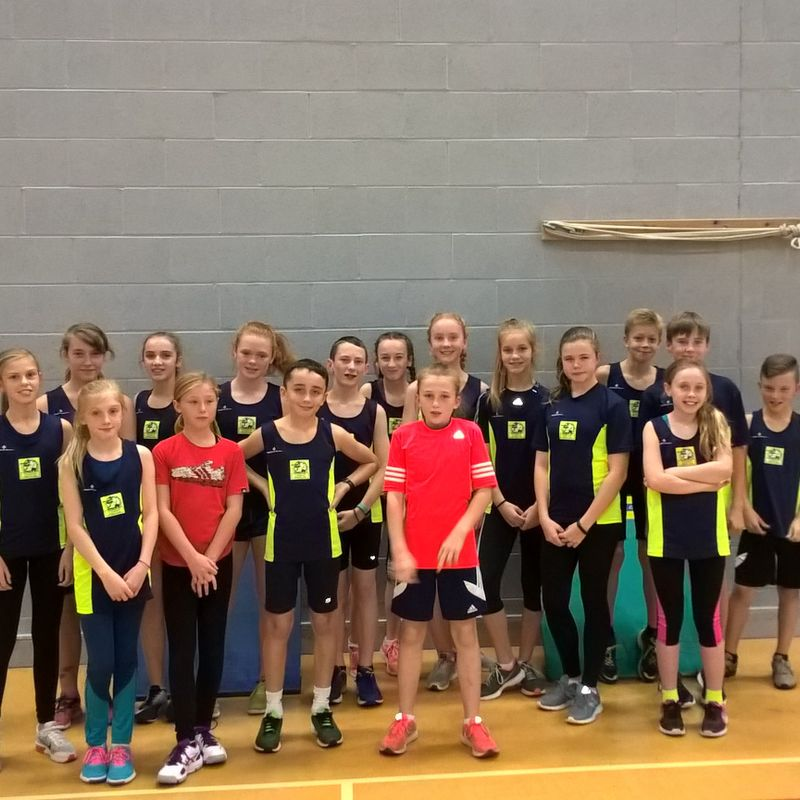 October Sportshall Athletics Report & Results