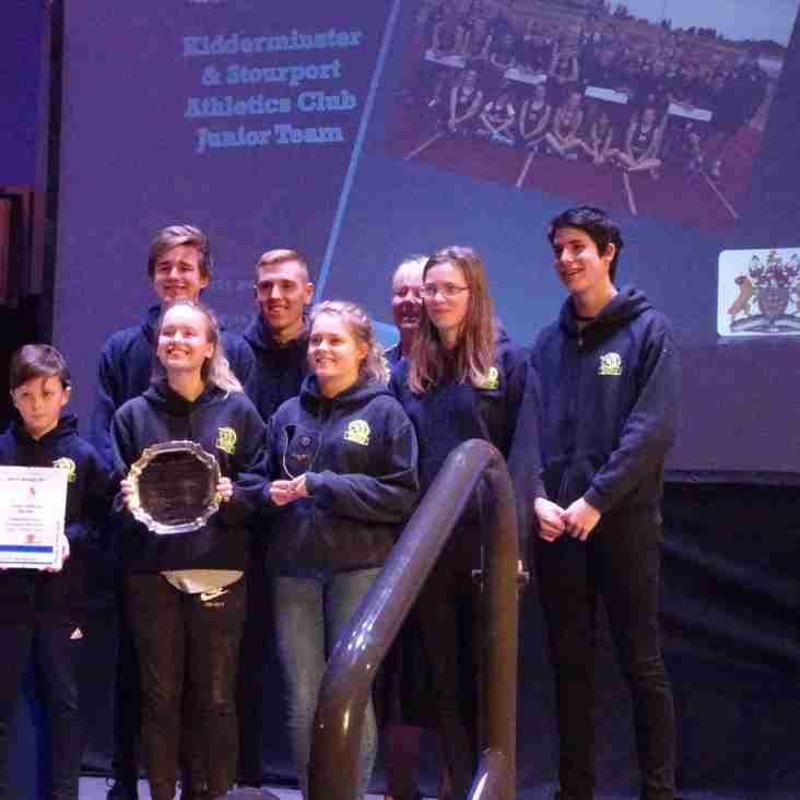 K&S AC Awarded Junior Team