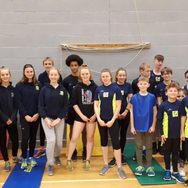H & W Sportshall Athletics (2018/19) - Match 1 Results