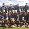 Under 7's beat Leigh East Wolves 9 - 10