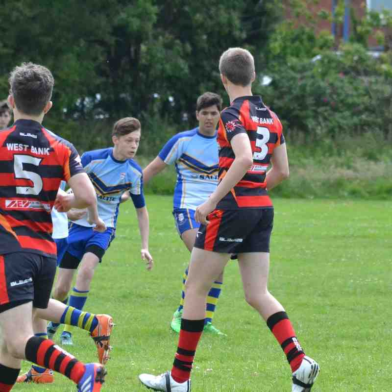 OSJ U15's v West Bank Bears 28.06.15