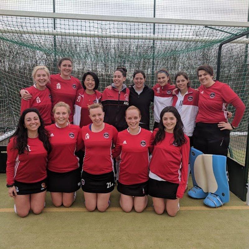London Edwardians Ladies 1 2 - 2 Reigate Priory Ladies 1s