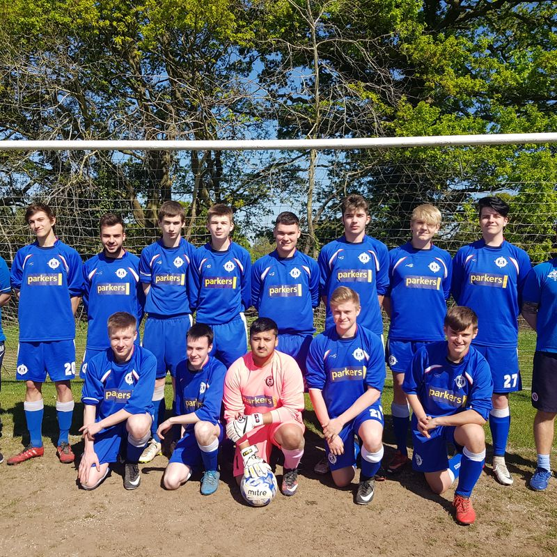Under 18s - Hurricanes beat Woodley Wanderers Youth Panthers 2 - 3