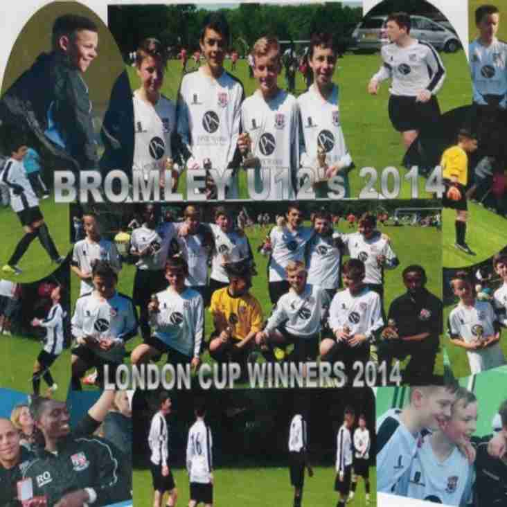 London Cup Winning Collage