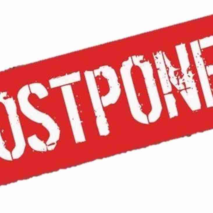 Staines Town Postponed